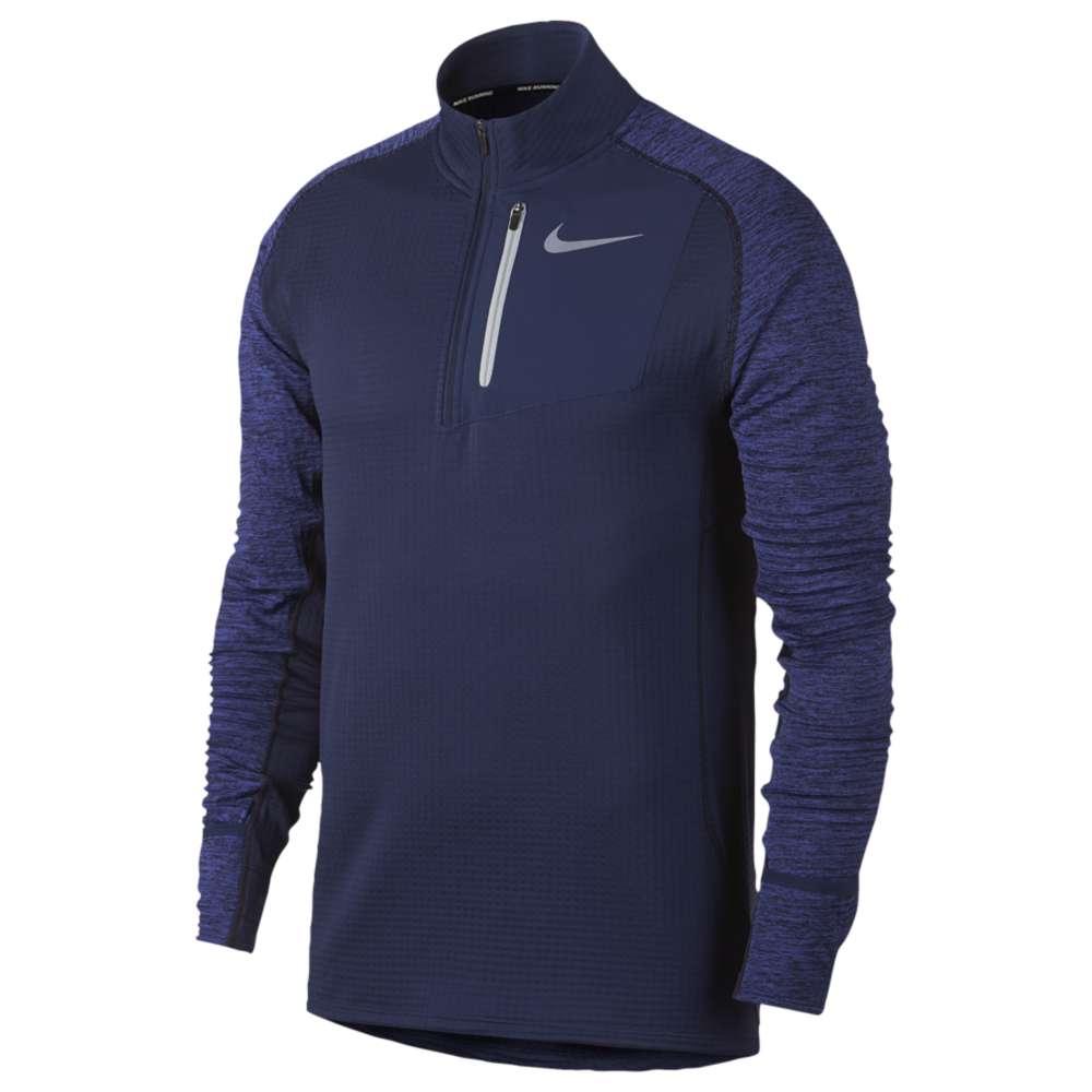ナイキ Nike メンズ ランニング・ウォーキング トップス【Therma Sphere Element 1/2 Zip】Binary Blue/Binary Blue/Heather