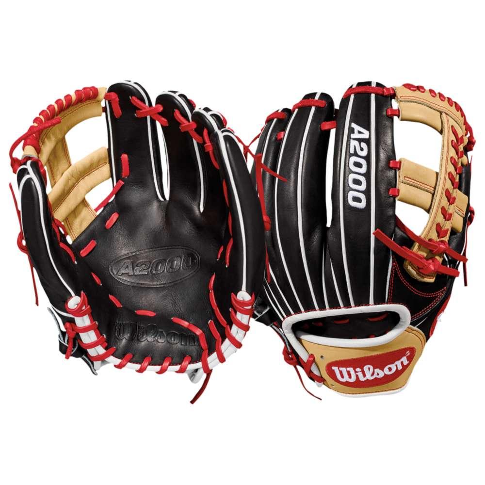 ウィルソン Wilson メンズ 野球 グローブ【A2000 1785 Fielder's Glove】Black/Blonde/Red