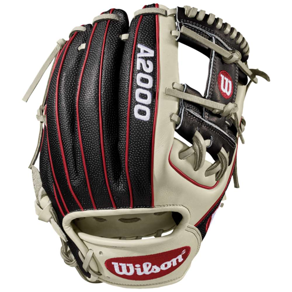 ウィルソン Wilson メンズ 野球 グローブ【A2000 1786 Superskin Fielder's】Black/Saddle Tan