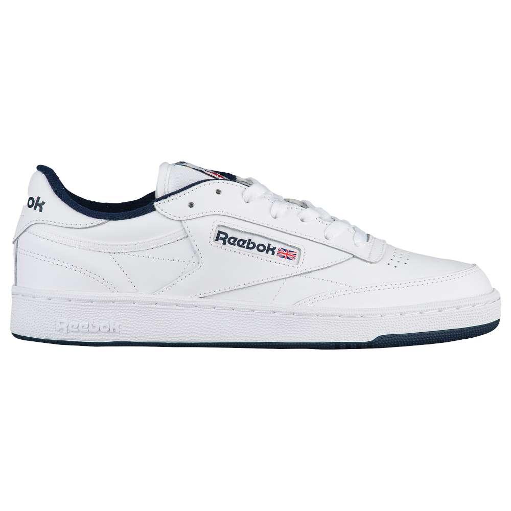 リーボック Reebok メンズ テニス シューズ・靴【Club C 85】White/Navy