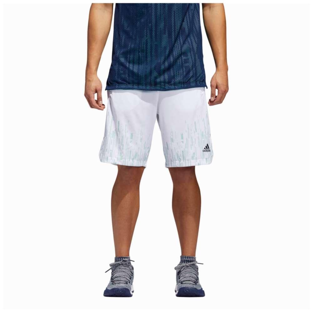 アディダス adidas メンズ バスケットボール ボトムス・パンツ【Electric 2 Shorts】White