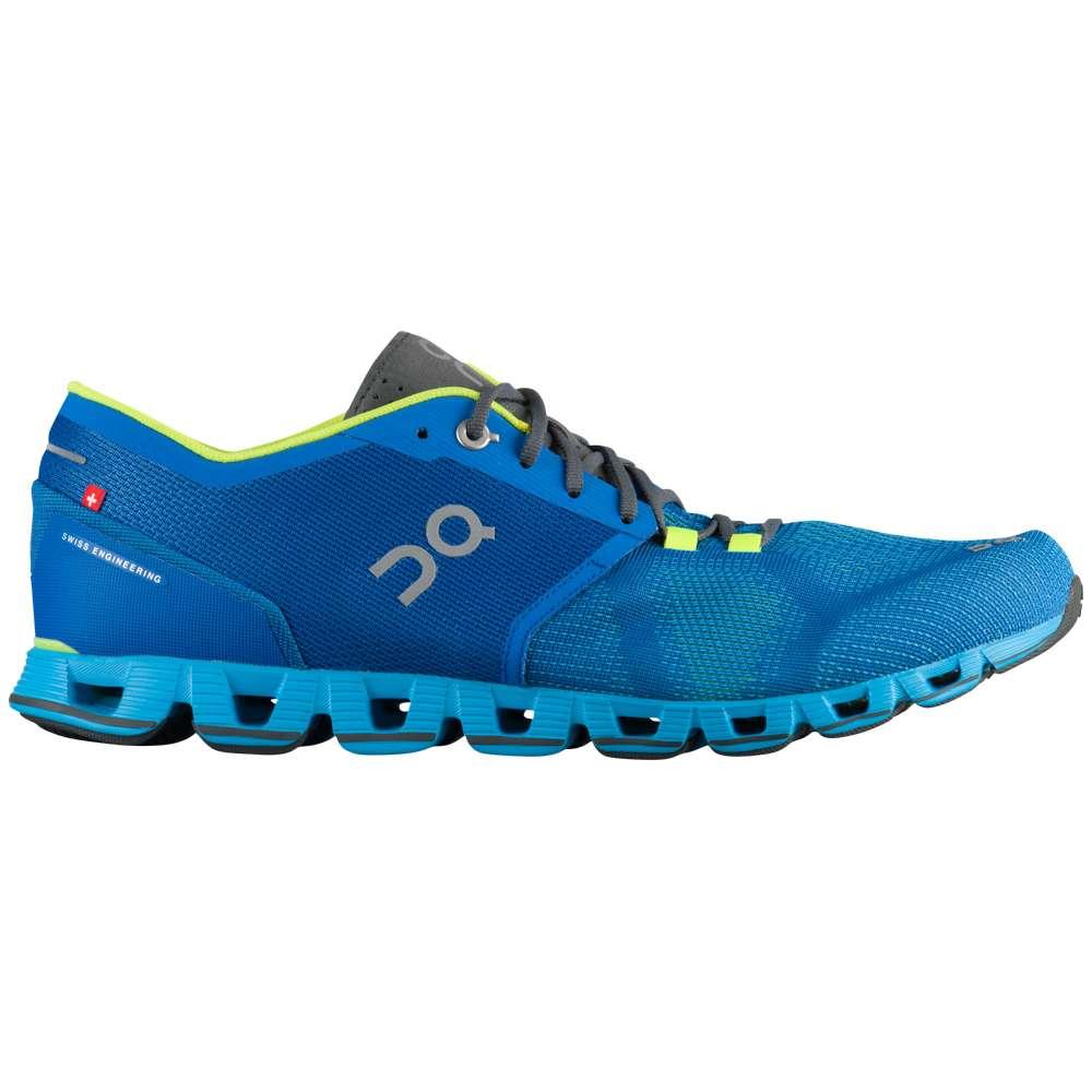 オン On メンズ ランニング・ウォーキング シューズ・靴【Cloud X】Water/Blues