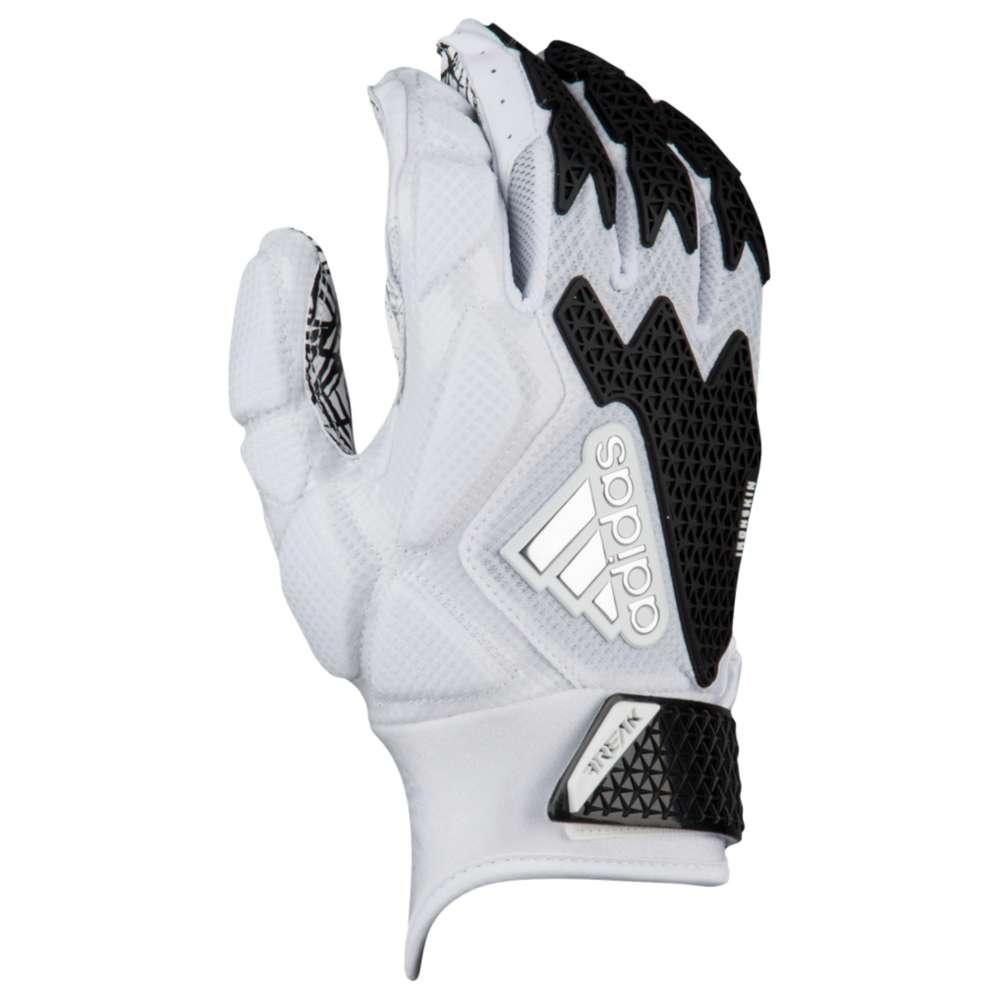 アディダス adidas メンズ アメリカンフットボール グローブ【Freak 3.0 Football Gloves】White/Black
