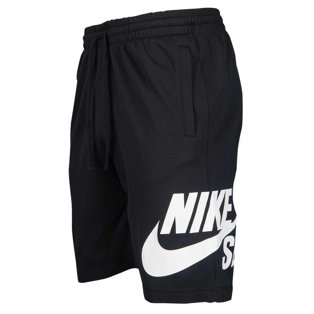 ナイキ Nike SB メンズ フィットネス・トレーニング ボトムス・パンツ【Dri-Fit Sunday Shorts】Black/White