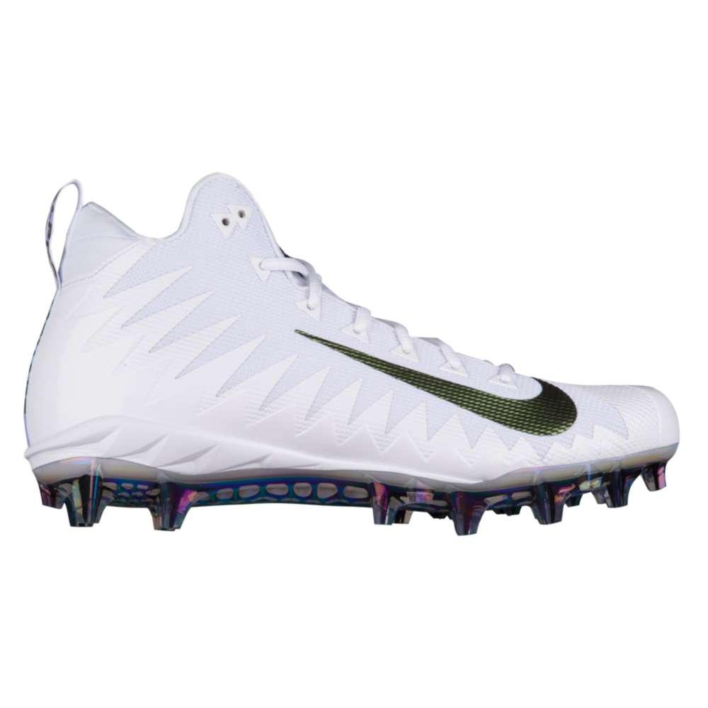 ナイキ Nike メンズ アメリカンフットボール シューズ・靴【Alpha Menace Pro Mid】White/Black/Wolf Grey