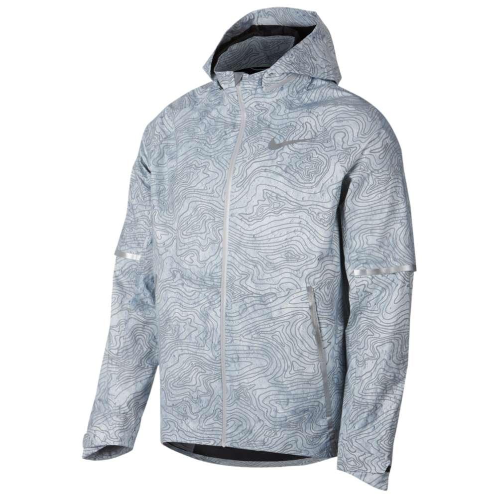 ナイキ Nike メンズ ランニング・ウォーキング アウター【Aeroshield Hooded Energy Solstice Jacket】Cool Grey/Cool Grey