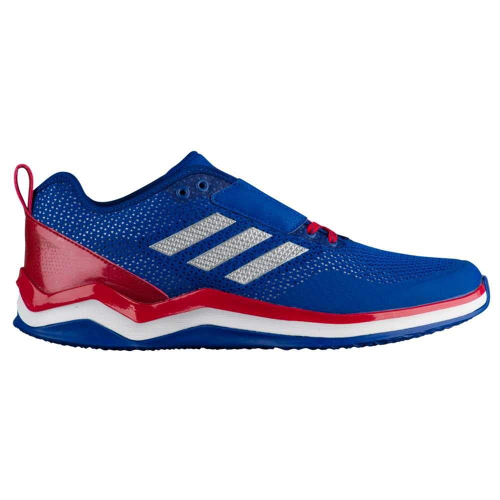 アディダス adidas メンズ 野球 シューズ・靴【Speed Trainer 3.0】Collegiate Royal/Silver Metallic/Power Red