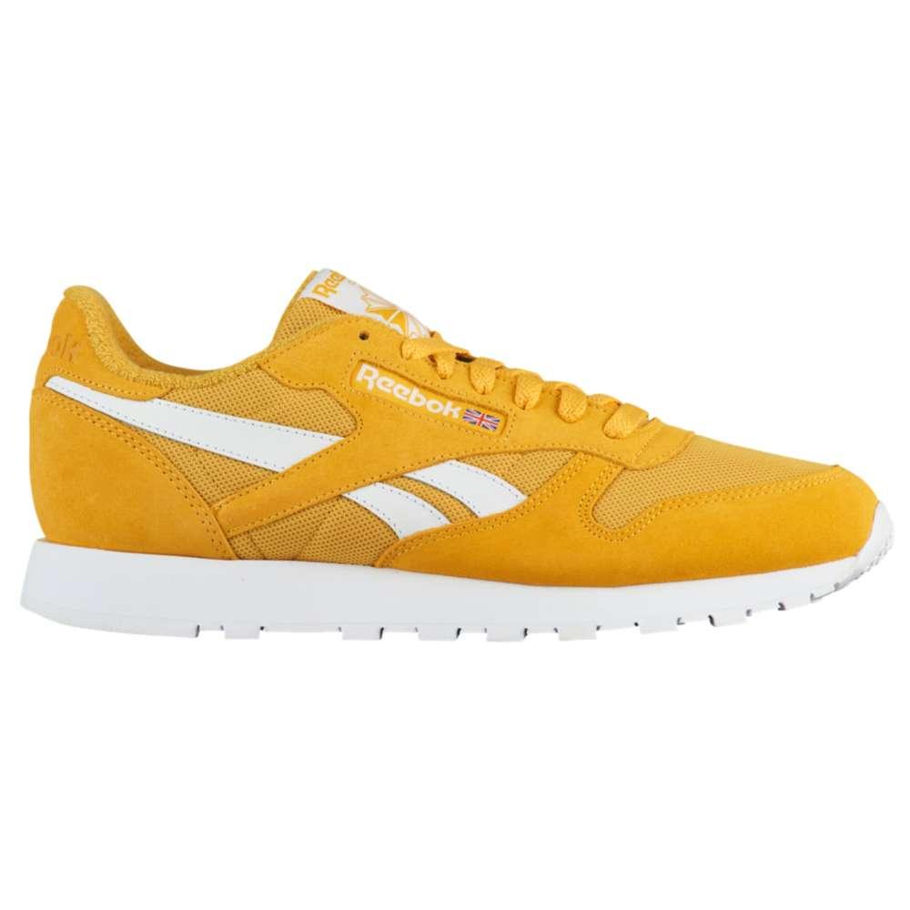 リーボック Reebok メンズ ランニング・ウォーキング シューズ・靴【Classic Leather】Fierce Gold/White
