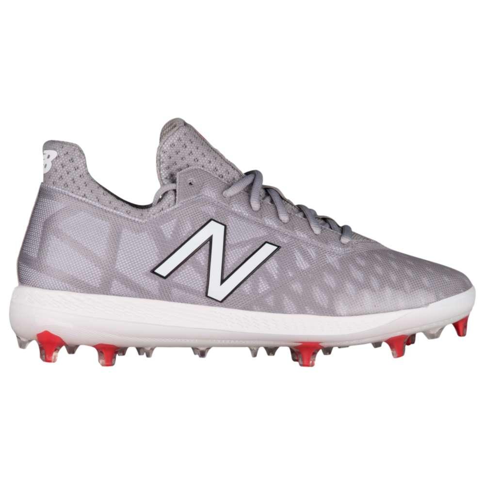 ニューバランス New Balance メンズ 野球 シューズ・靴【COMPV1 TPU Low】Grey/White