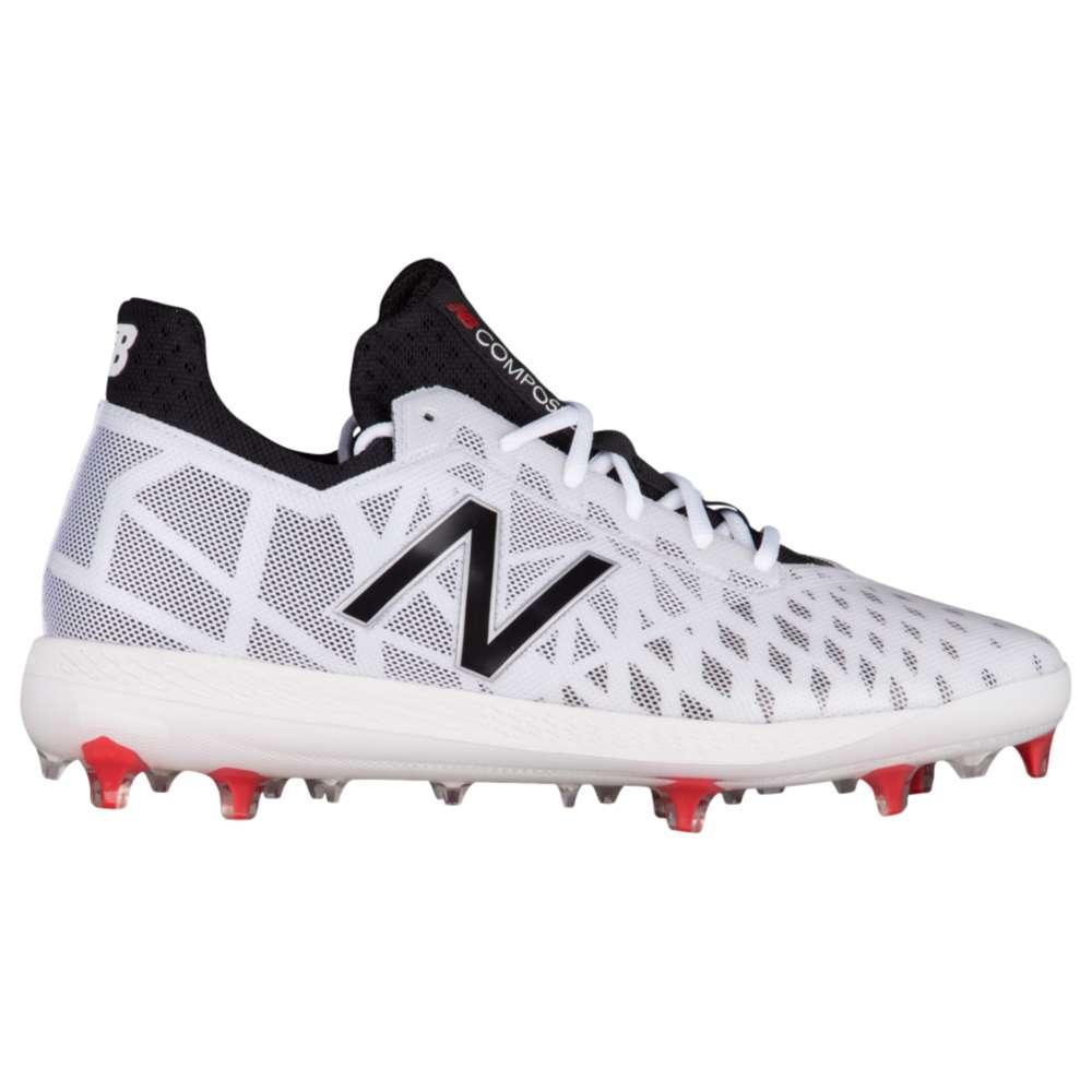 ニューバランス New Balance メンズ 野球 シューズ・靴【COMPV1 TPU Low】White/Black