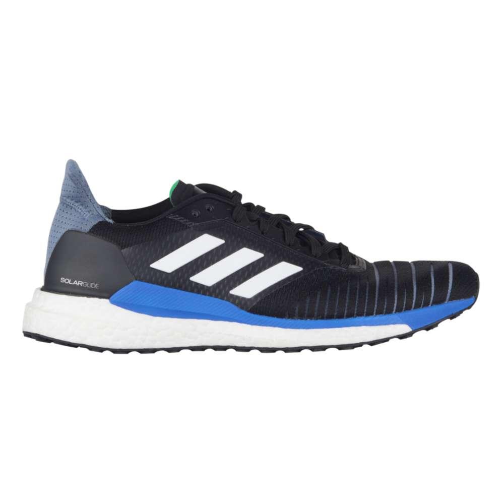 アディダス adidas メンズ ランニング・ウォーキング シューズ・靴【Solar Glide】Core Black/Footwear White/Hi-Res Blue