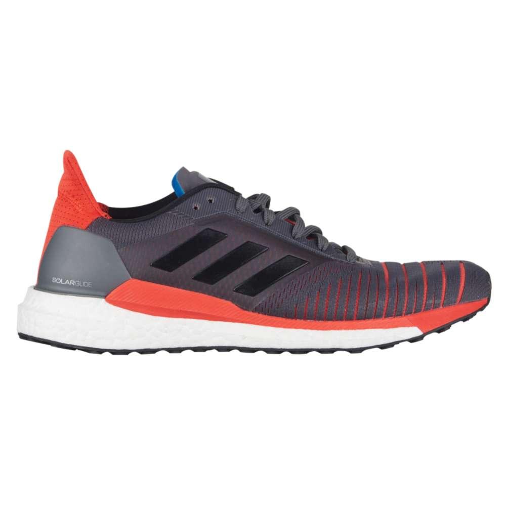 アディダス adidas メンズ ランニング・ウォーキング シューズ・靴【Solar Glide】Grey Five/Core Black/Hi-Res Red