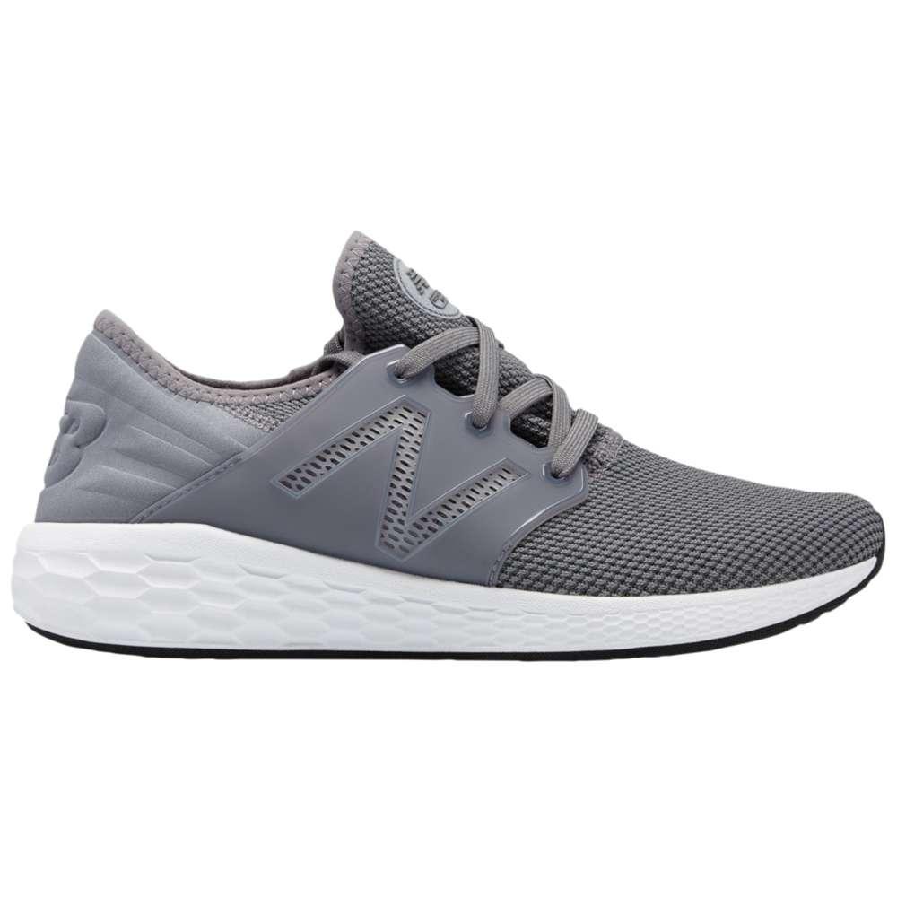 ニューバランス New Balance メンズ ランニング・ウォーキング シューズ・靴【Fresh Foam Cruz V2】Gunmetal/White