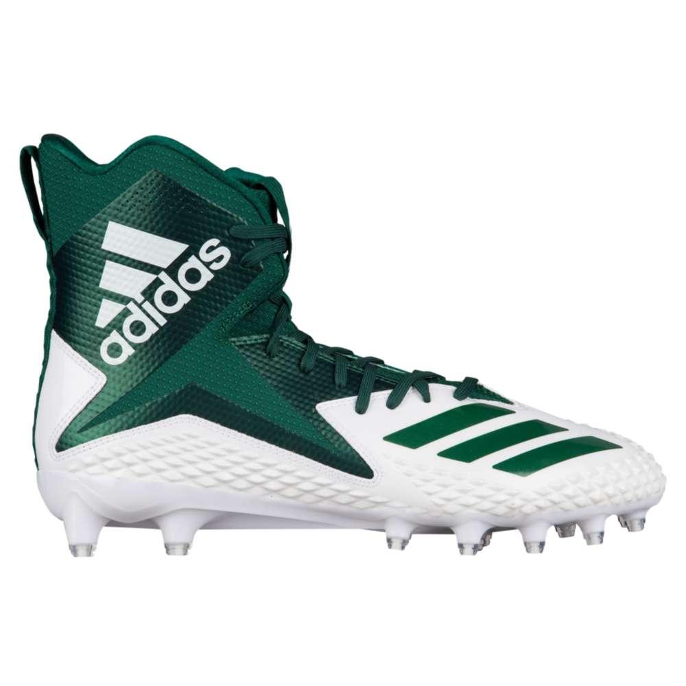 アディダス adidas メンズ アメリカンフットボール シューズ・靴【Freak X Carbon High】White/Dark Green