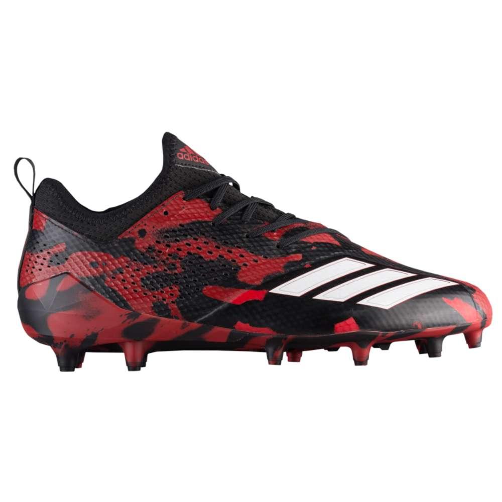 アディダス adidas メンズ アメリカンフットボール シューズ・靴【adiZero 5-Star 7.0 Tagged Camo】Black/White/Power Red