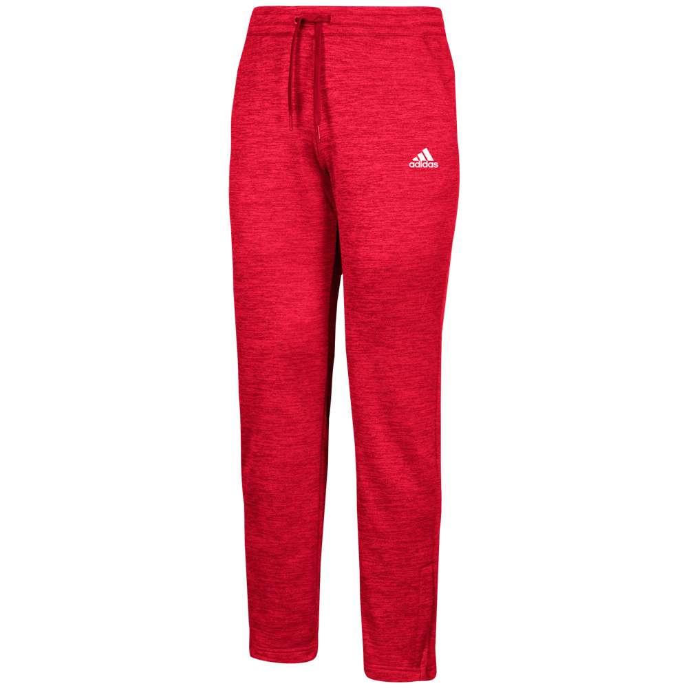 アディダス adidas メンズ ボトムス・パンツ【Team Issue Fleece Pants】Power Red/White