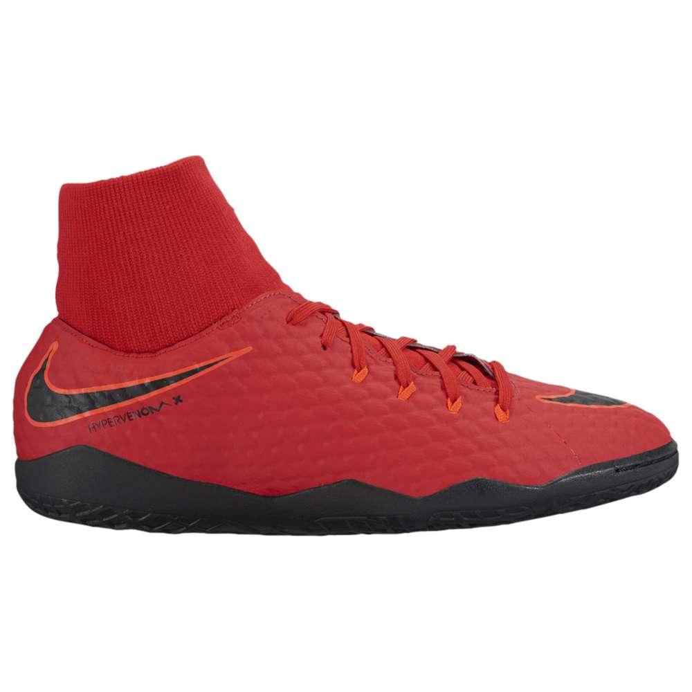 ナイキ Nike メンズ サッカー シューズ・靴【HypervenomX Phelon III Dynamic Fit IC】University Red/Black/Bright Crimson