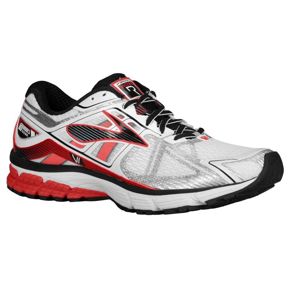 ブルックス Brooks メンズ ランニング・ウォーキング シューズ・靴【Ravenna 6】White/High Risk Red/Black