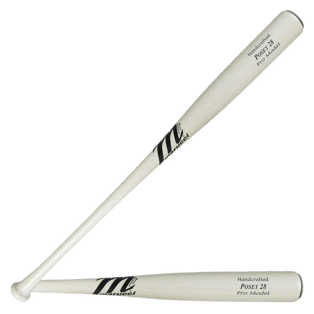 マルッチ Marucci メンズ 野球 バット【POSEY28 Pro Model Baseball Bat】White Wash