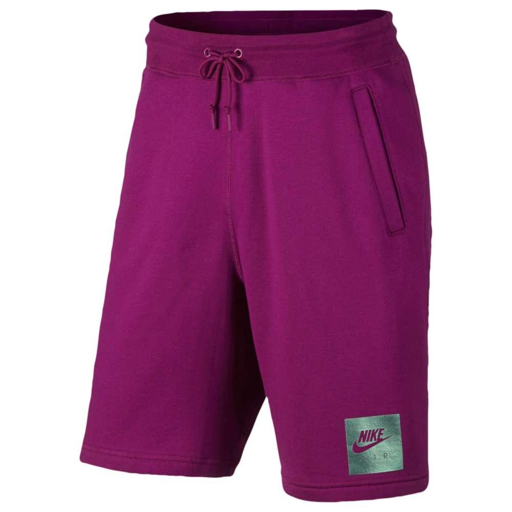 ナイキ Nike メンズ ボトムス・パンツ ショートパンツ【Air Heritage Fleece Shorts】True Berry