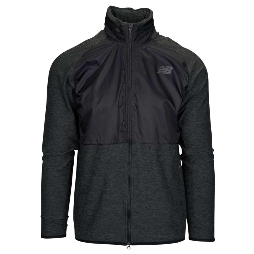ニューバランス New Balance メンズ フィットネス・トレーニング トップス【Anticipate Full-Zip Jacket】Black/Grey