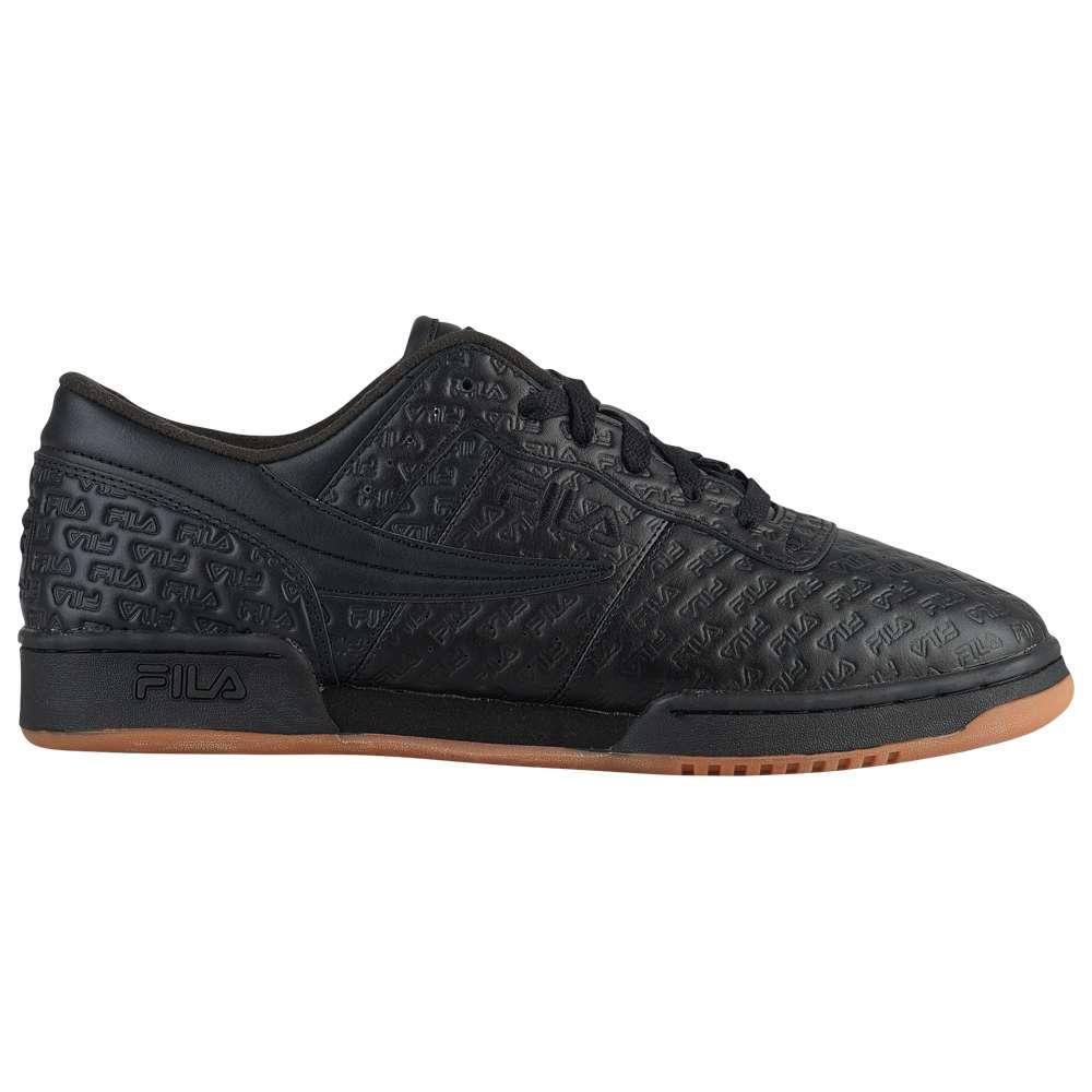 フィラ Fila メンズ フィットネス・トレーニング シューズ・靴【Original Fitness】Black/Gum
