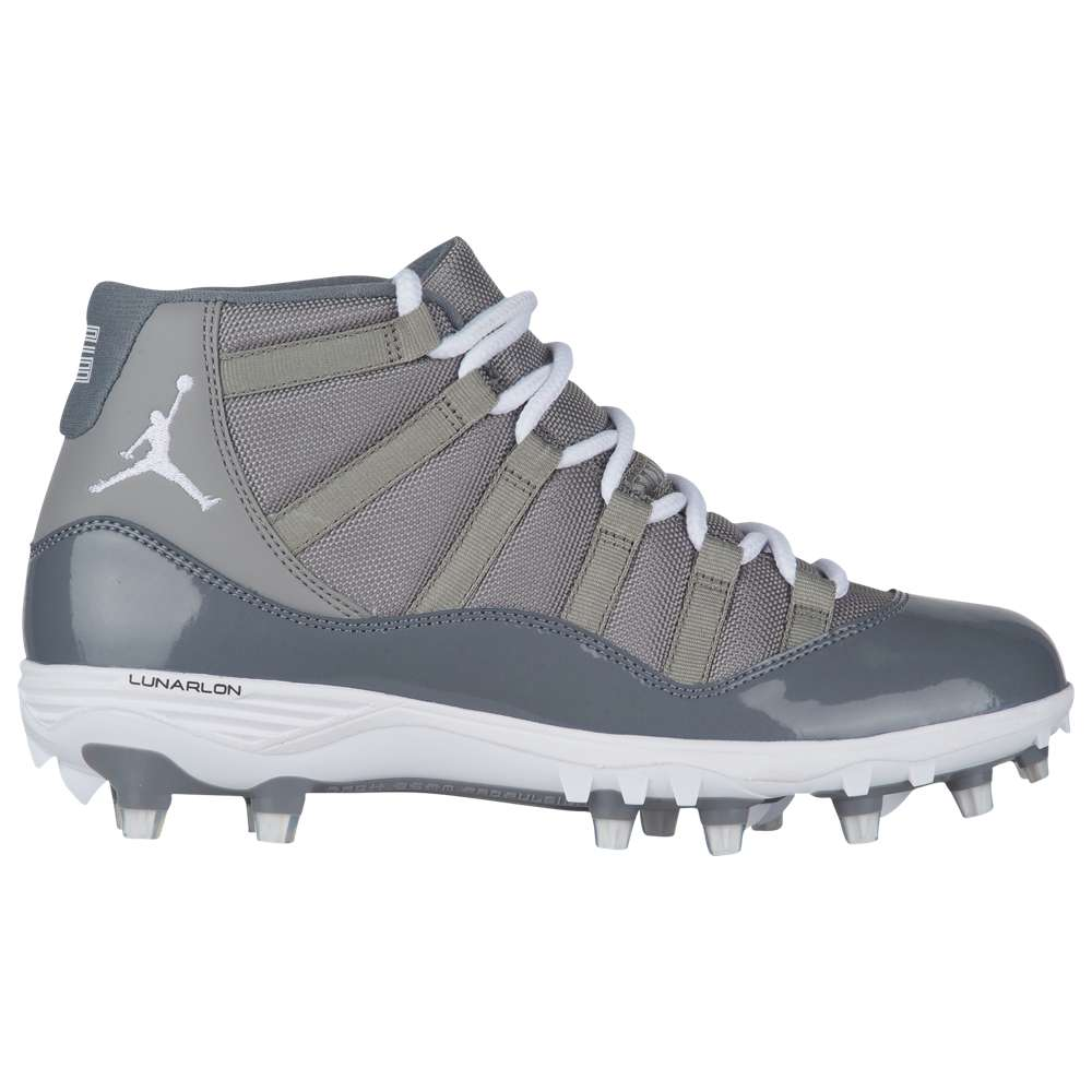 ナイキ ジョーダン Jordan メンズ アメリカンフットボール シューズ・靴【Retro 11 TD】Med Grey/White/Cool Grey