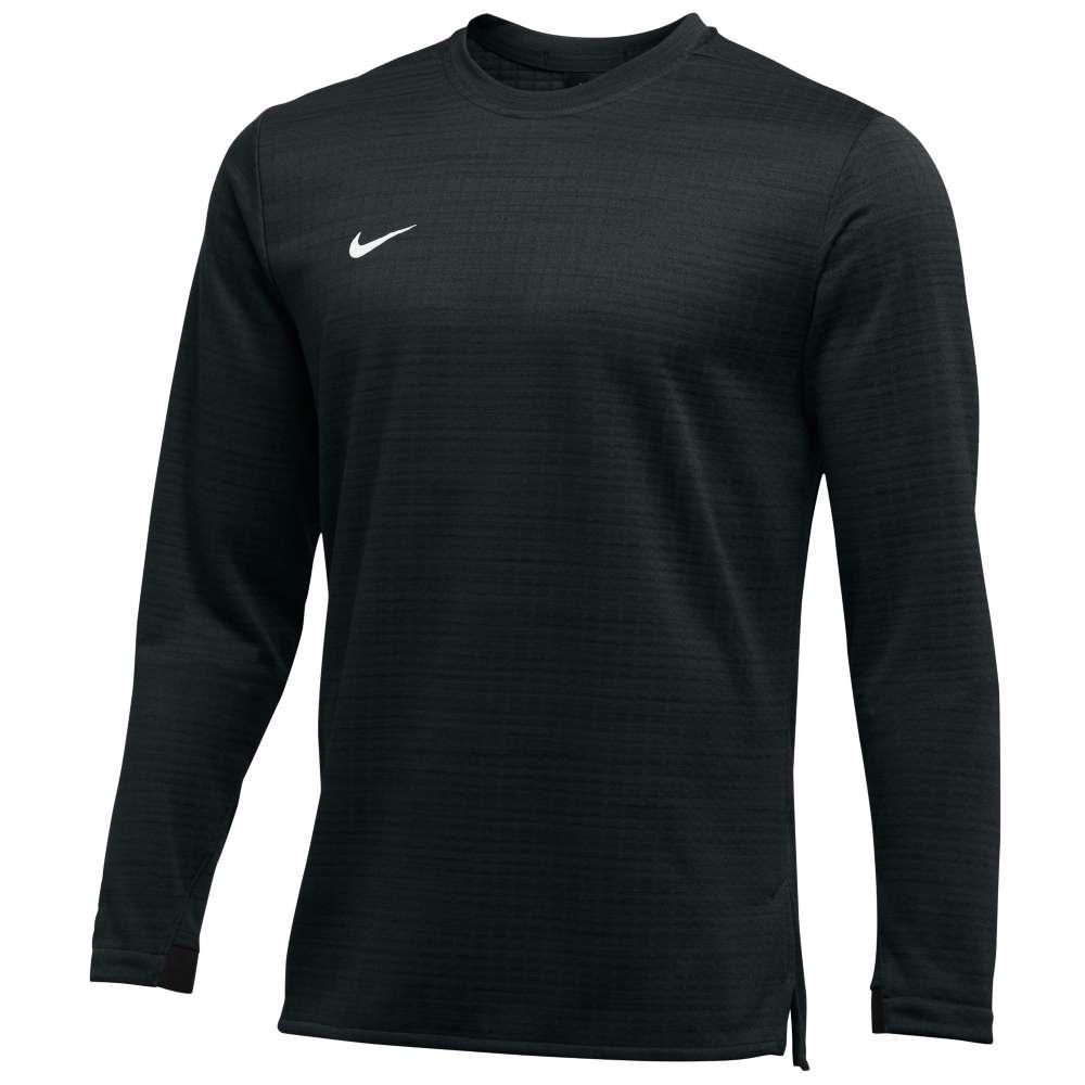 ナイキ Nike メンズ トップス 長袖Tシャツ【Team Authentic Modern Therma L/S Top】Black/White