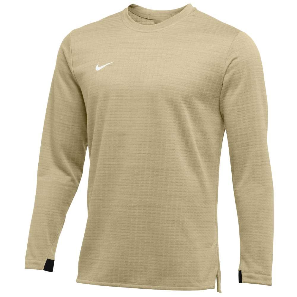 ナイキ Nike メンズ トップス 長袖Tシャツ【Team Authentic Modern Therma L/S Top】Team Gold/White