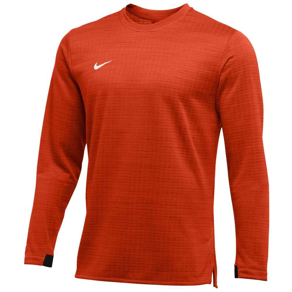 ナイキ Nike メンズ トップス 長袖Tシャツ【Team Authentic Modern Therma L/S Top】Team Orange/White