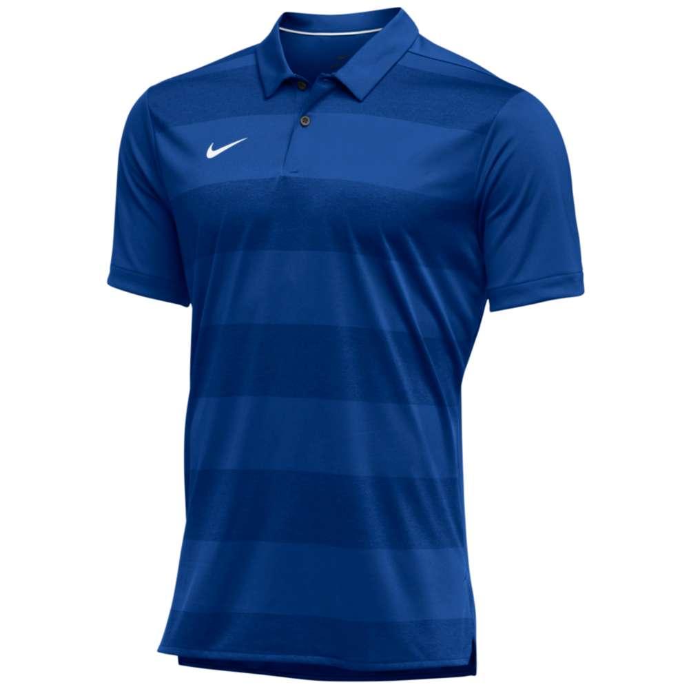 ナイキ Nike メンズ トップス ポロシャツ【Team Authentic Dry Early Season Polo】Game Royal/White
