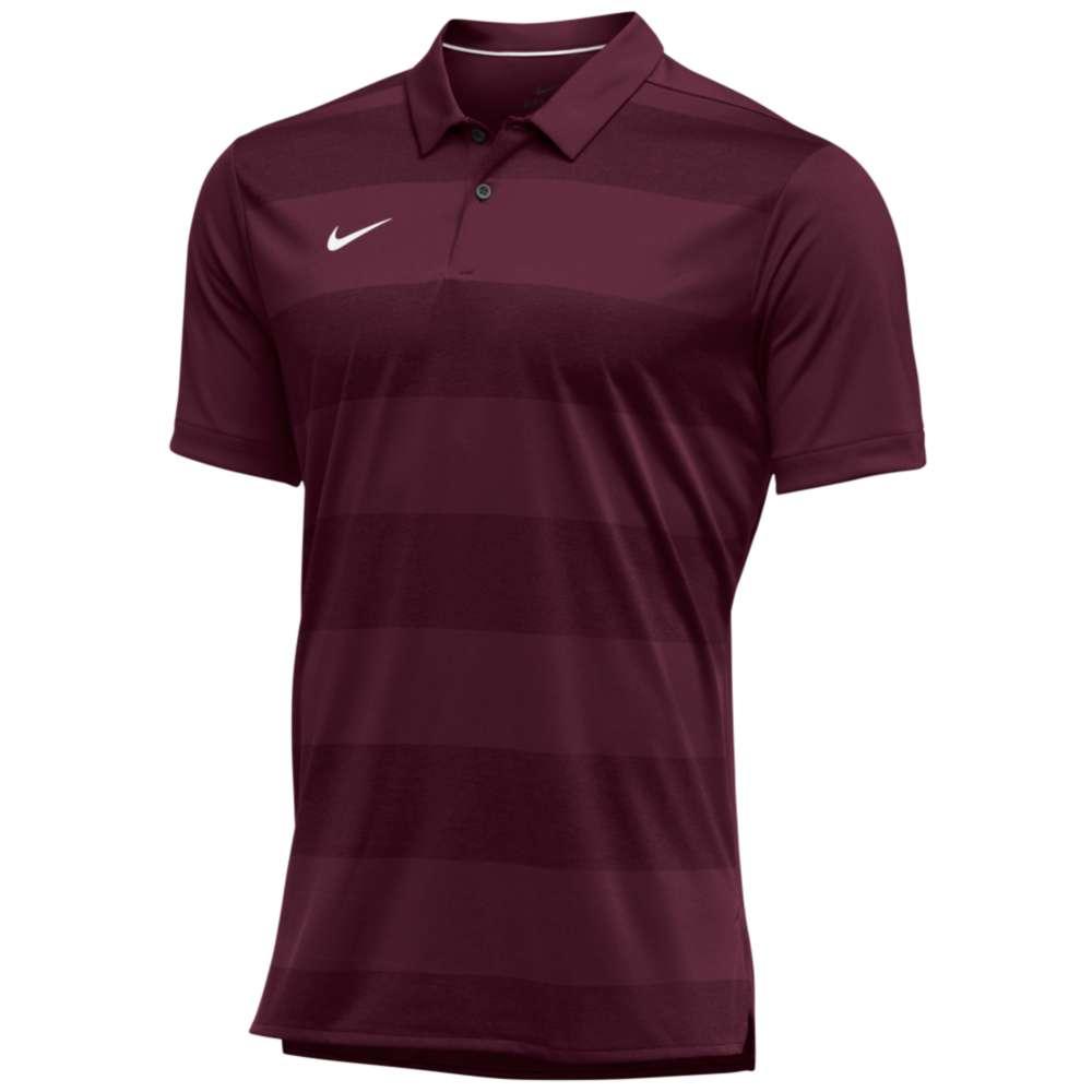 ナイキ Nike メンズ トップス ポロシャツ【Team Authentic Dry Early Season Polo】Team Maroon/White
