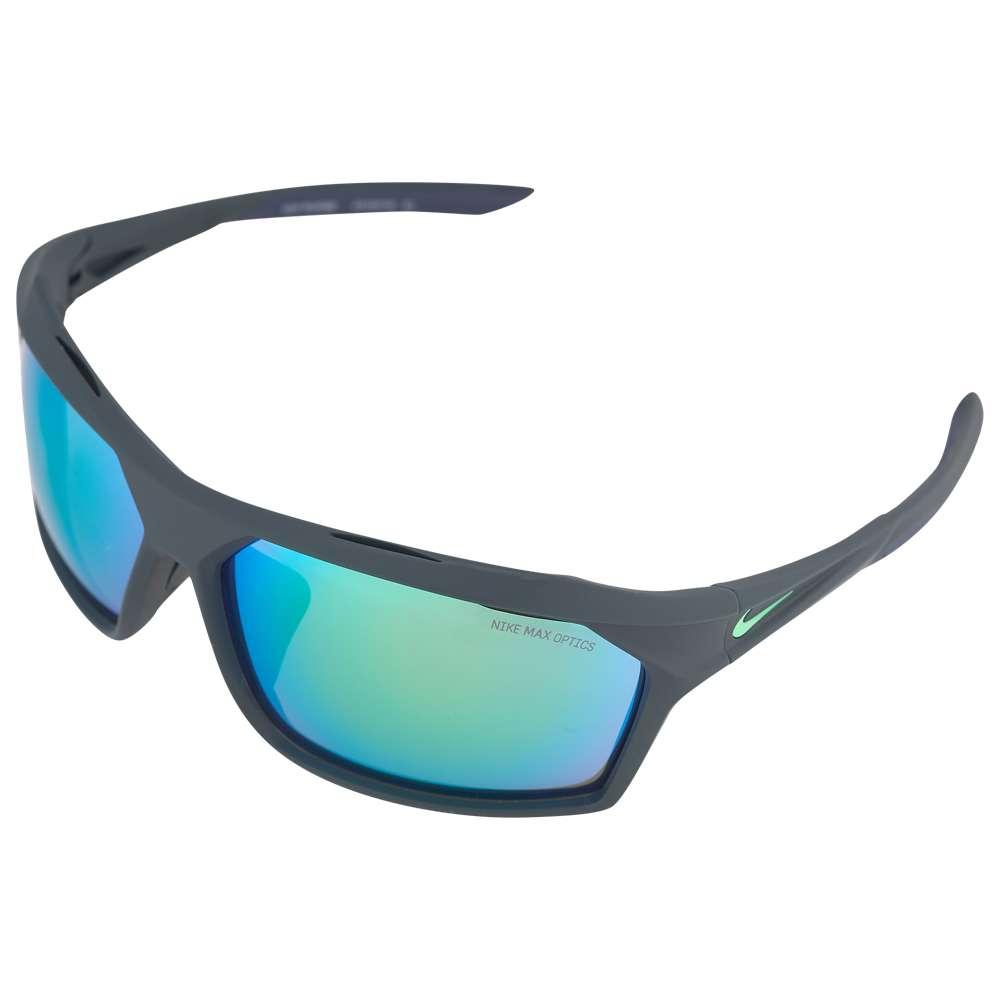 ナイキ Nike ユニセックス スポーツサングラス【Traverse Sunglasses】Matte Seaweed/Electro Green