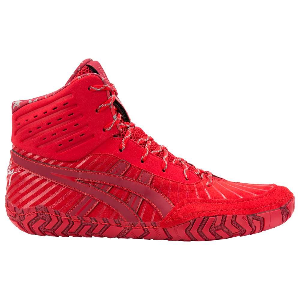 アシックス ASICS メンズ レスリング シューズ・靴【Aggressor 4 LE】Burgundy/Classic Red
