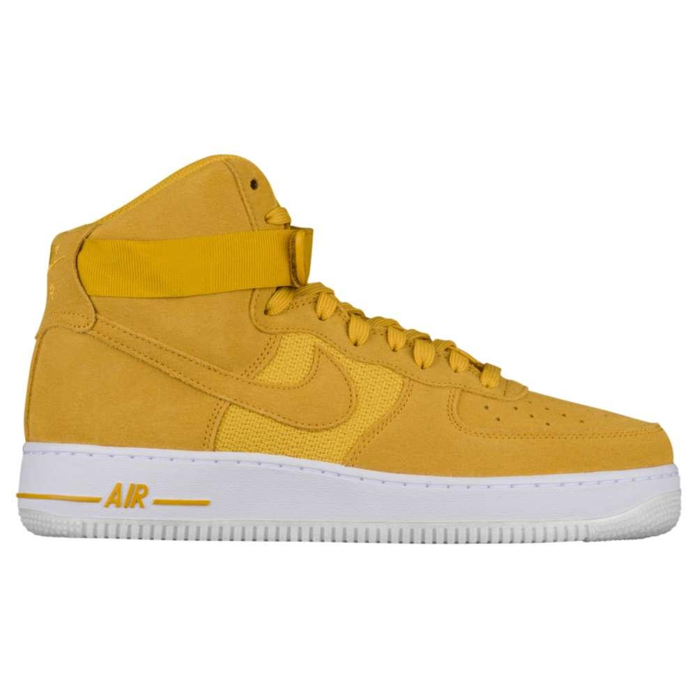 ナイキ Nike メンズ バスケットボール シューズ・靴【Air Force 1 High】University Gold/Mineral Gold
