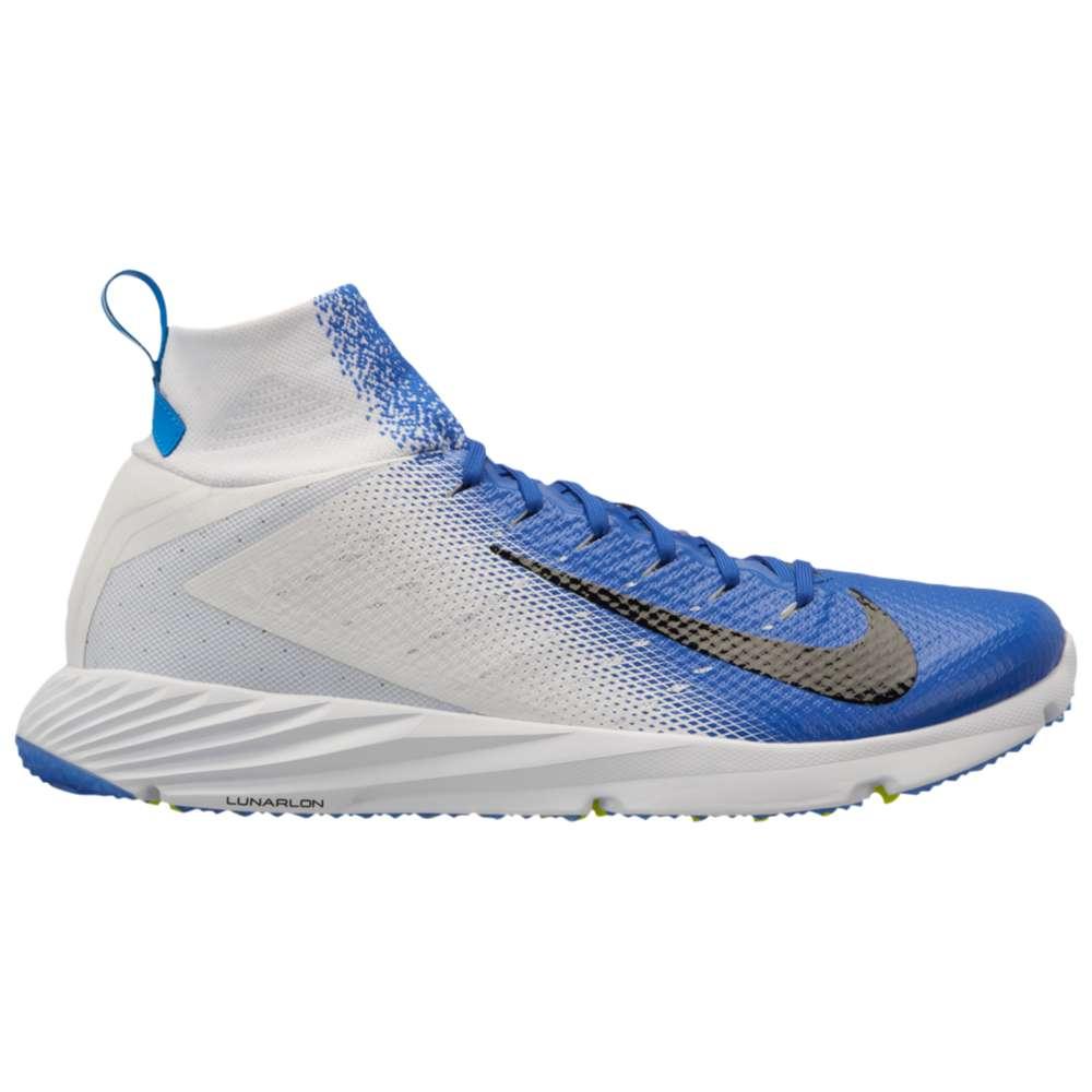 ナイキ Nike メンズ アメリカンフットボール シューズ・靴【Vapor Untouchable Speed Turf 2】White/Black/Game Royal/Photo Blue/Volt