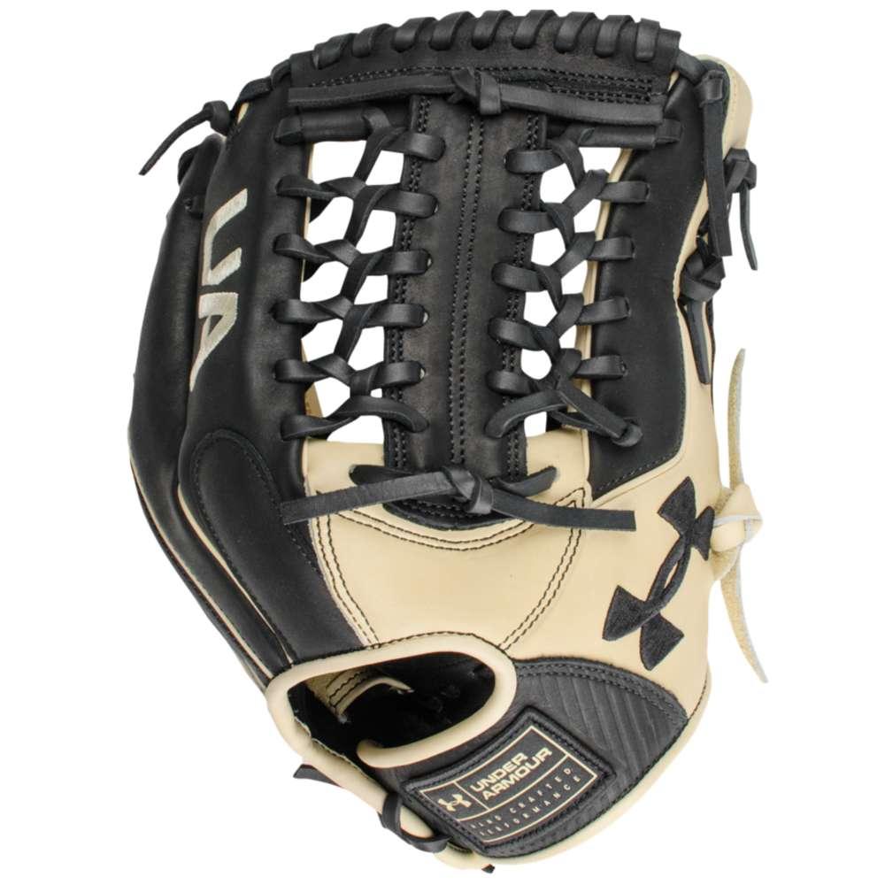 アンダーアーマー Under Armour ユニセックス 野球 グローブ【Genuine Pro Modified Trap Fielding Glove】Black/Cream