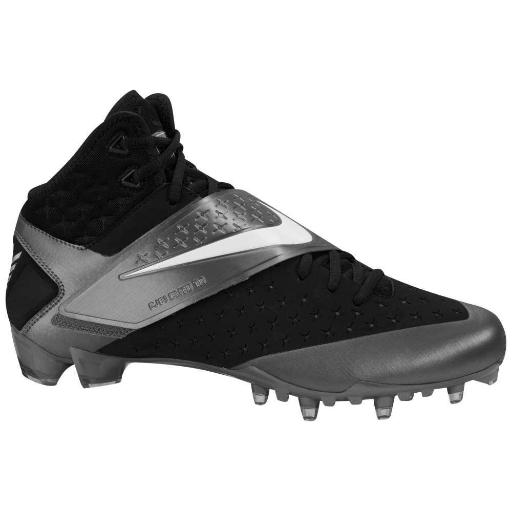 ナイキ Nike メンズ アメリカンフットボール シューズ・靴【CJ81 Elite TD】Black/White/Tornado