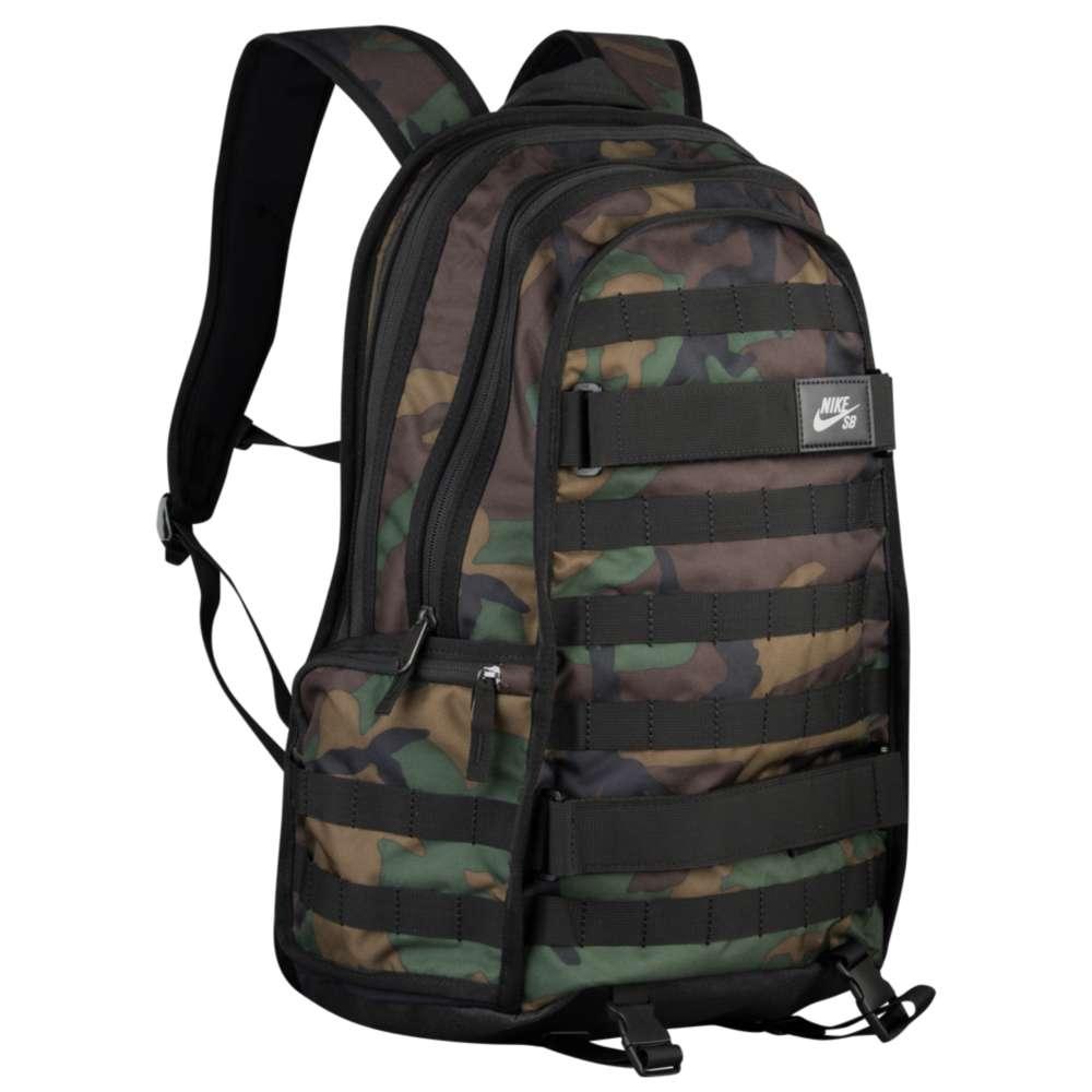 ナイキ Nike SB ユニセックス バッグ バックパック・リュック【RPM AOP Backpack】Camo/Black