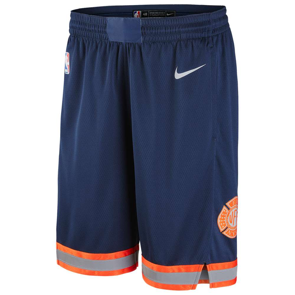 ナイキ Nike メンズ バスケットボール ボトムス・パンツ【NBA City Edition Swingman Shorts】Navy