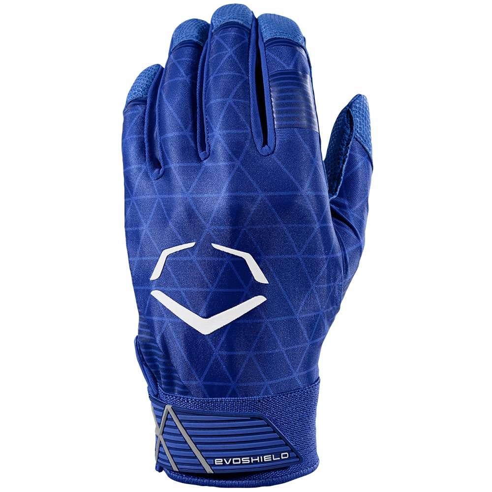 エボシールド Evoshield メンズ 野球 グローブ【Evocharge Batting Gloves】Royal