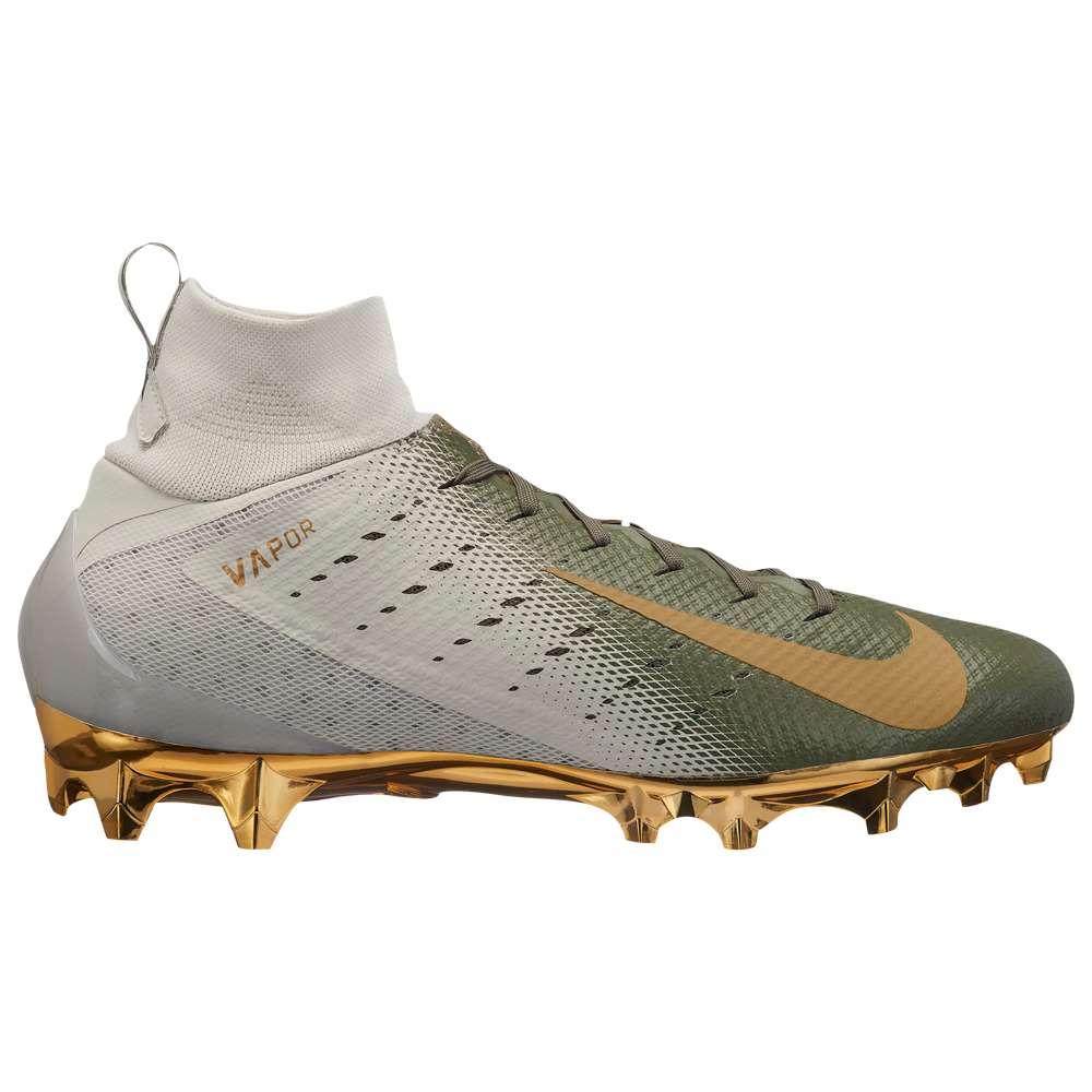 ナイキ Nike メンズ アメリカンフットボール シューズ・靴【Vapor Untouchable 3 Pro】Gold/Metallic Gold/Metallic Gold/Med Olive