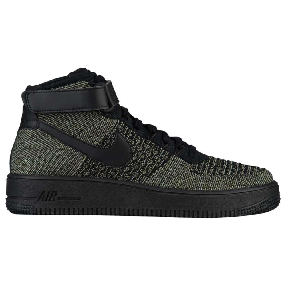 ナイキ Nike メンズ バスケットボール シューズ・靴【Air Force 1 Ultra Flyknit Mid】Palm Green/Black/White