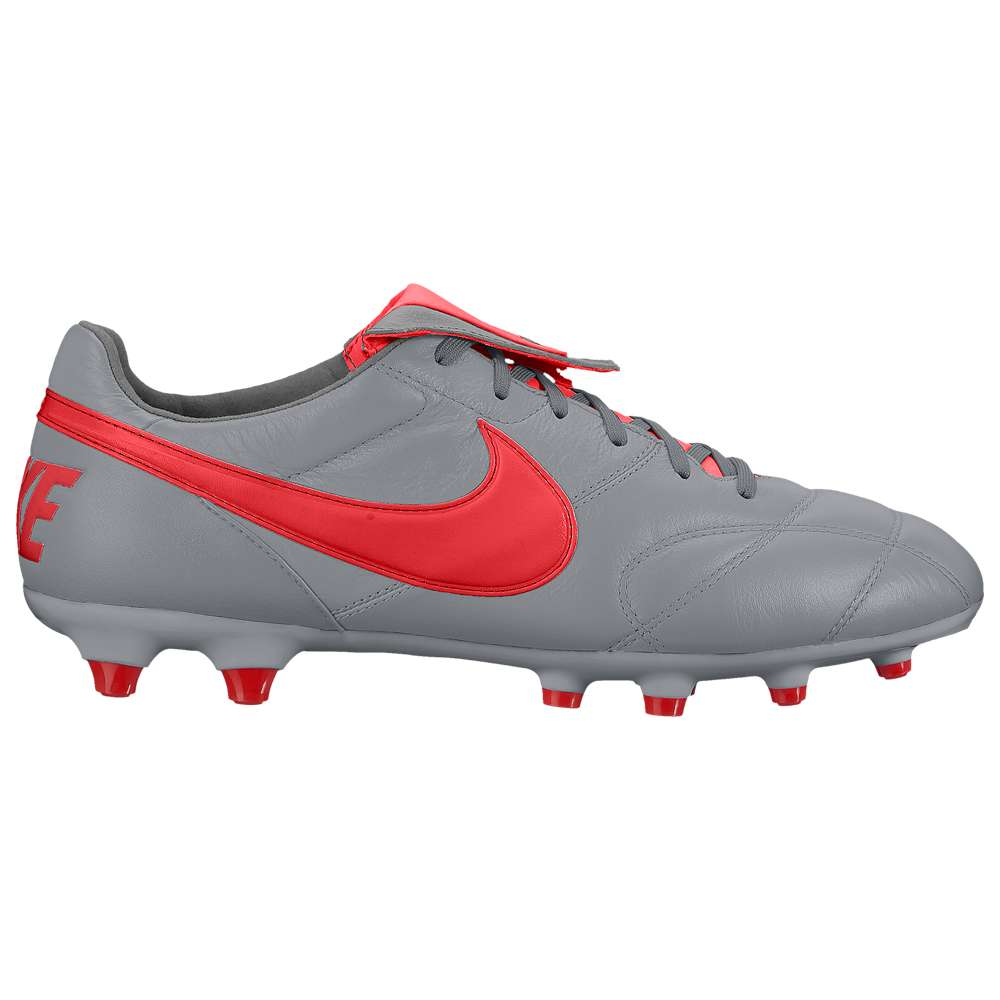 ナイキ Nike メンズ サッカー シューズ・靴【The Premier II FG】Wolf Grey/Light Crimson