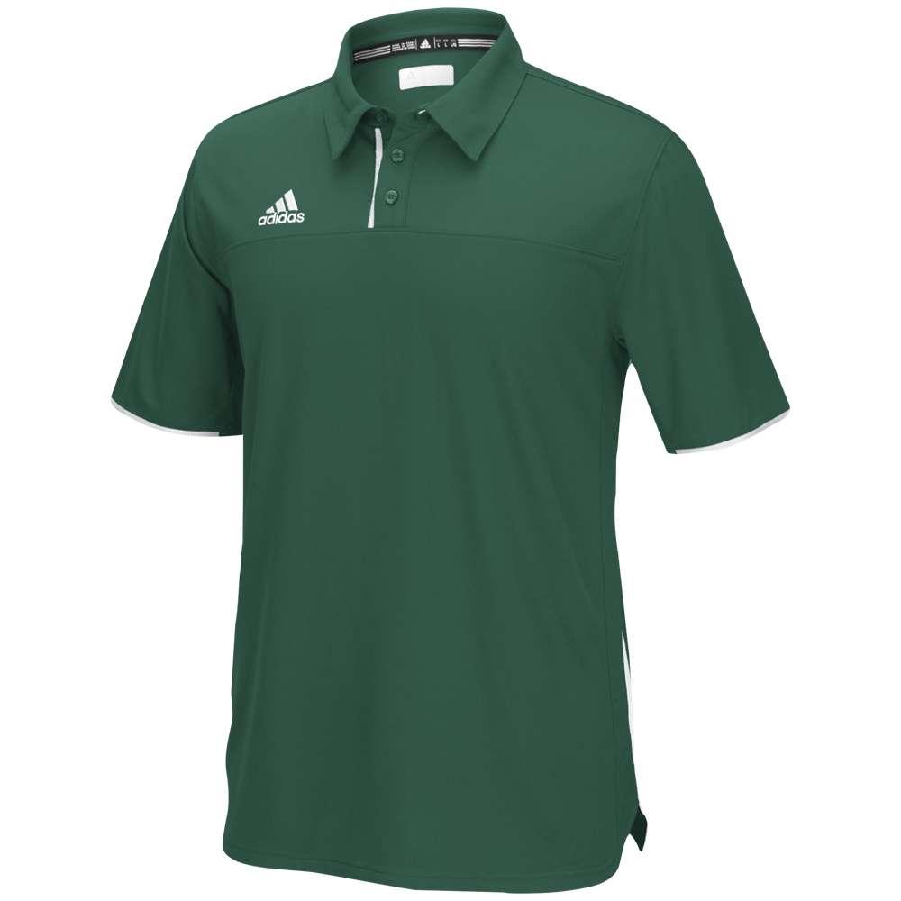 アディダス adidas メンズ トップス ポロシャツ【Team Utility Polo】Dark Green/White