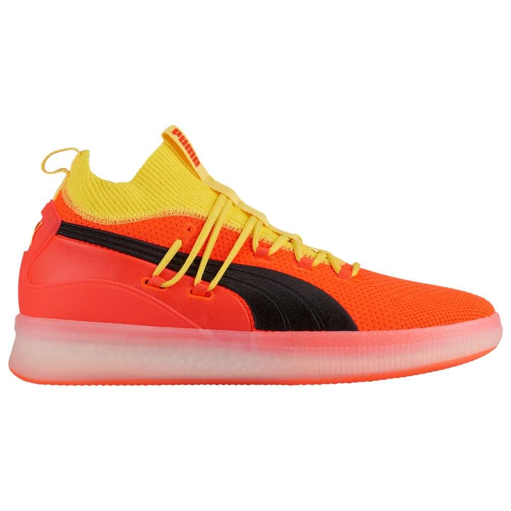 プーマ PUMA メンズ バスケットボール シューズ・靴【Clyde Court】Red Blast