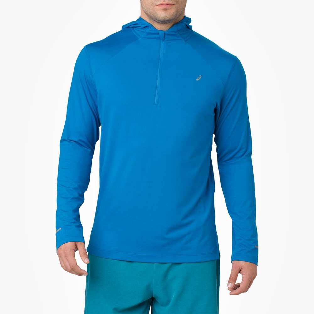アシックス ASICS メンズ ランニング・ウォーキング トップス【Thermopolis Long Sleeve Hoodie】Race Blue
