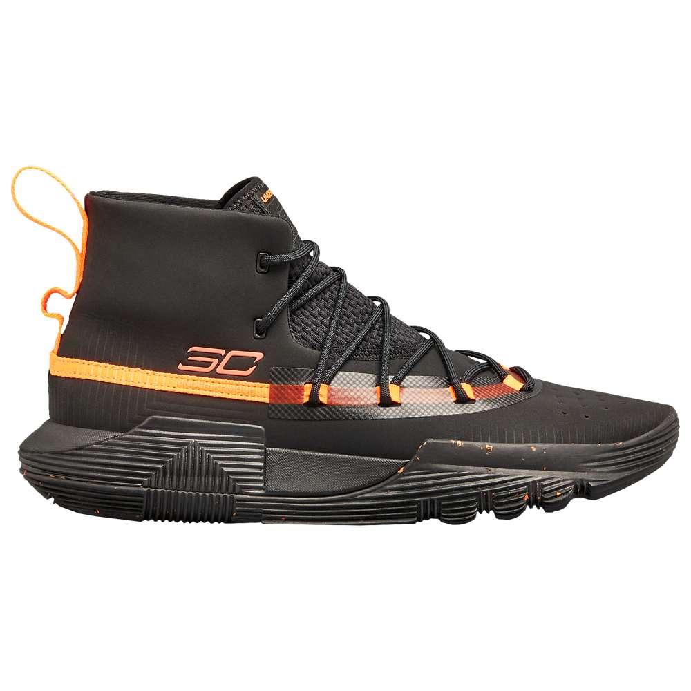 アンダーアーマー Under Armour メンズ バスケットボール シューズ・靴【SC 3Zero II】Black/After Burn