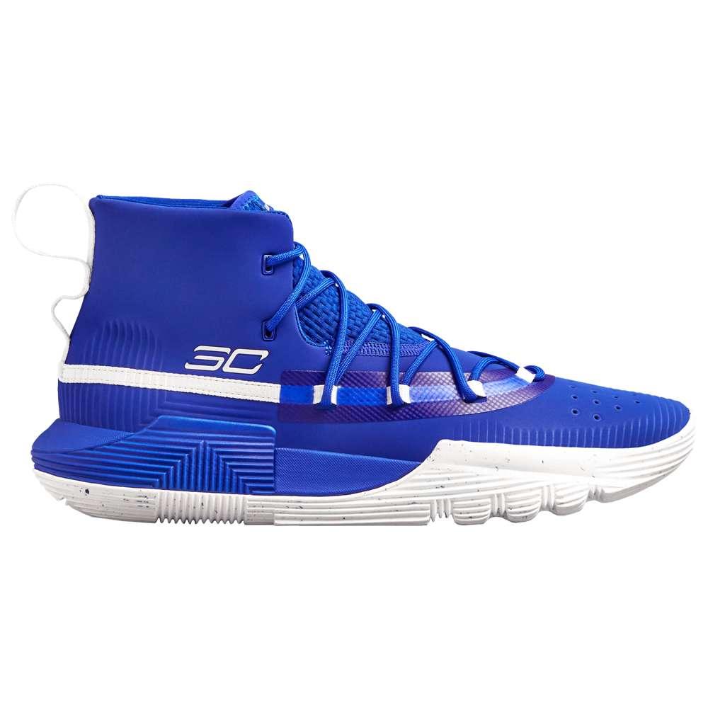 アンダーアーマー Under Armour メンズ バスケットボール シューズ・靴【SC 3Zero II】Royal/White