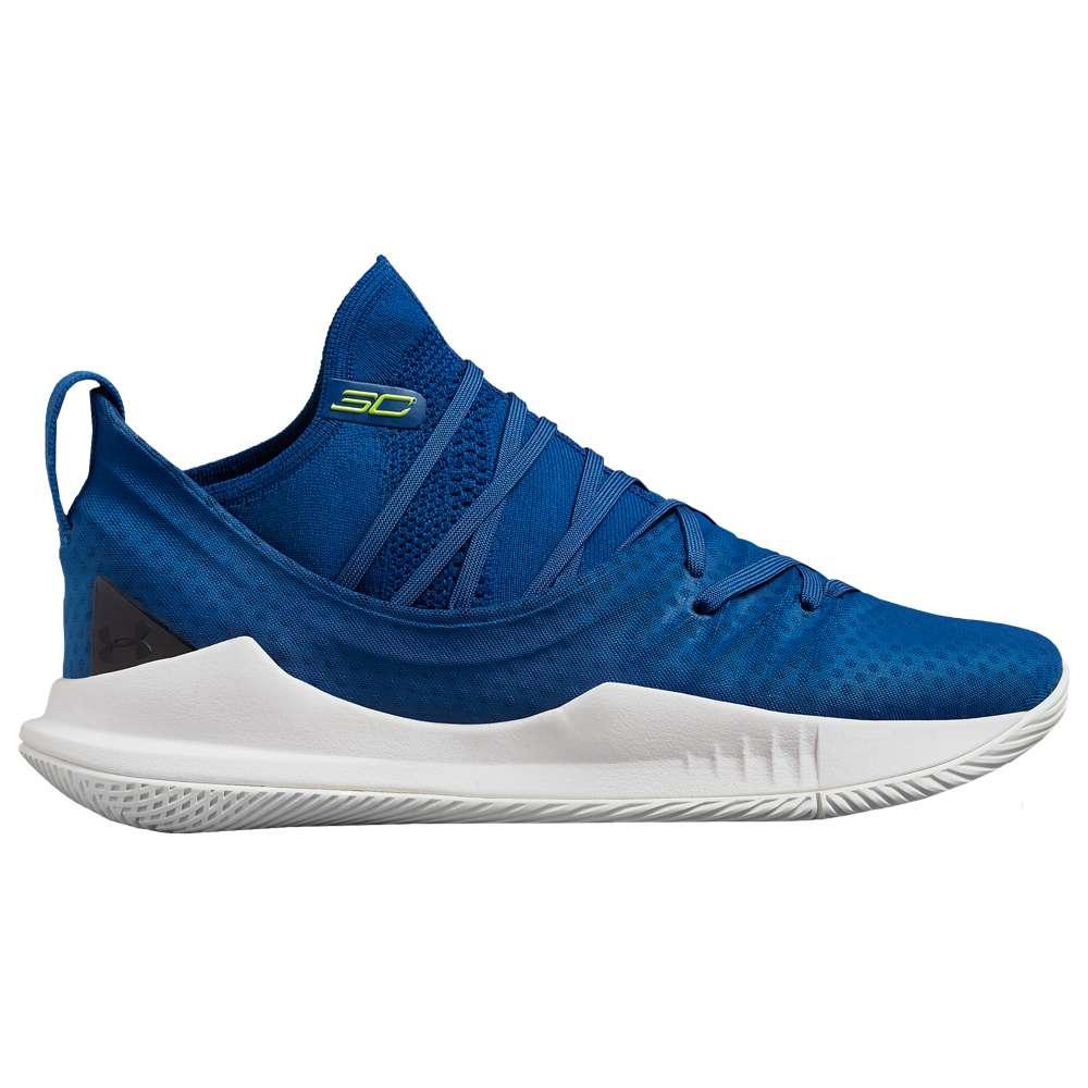 アンダーアーマー Under Armour メンズ バスケットボール シューズ・靴【Curry 5】Moroccan Blue/White/Yellow